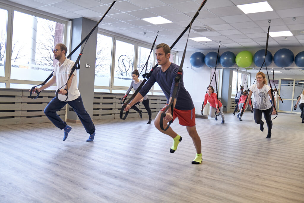 TRX - suspension Training - Areafisio Manerba